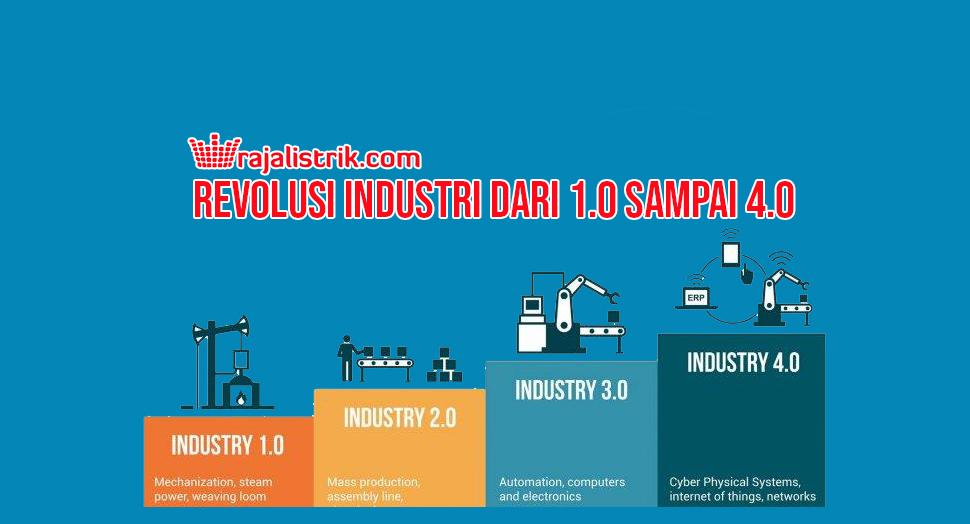 Revolusi Industri dari 1.0 sampai 4.0