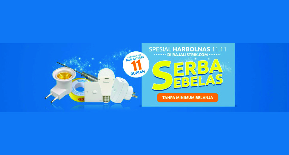 Program Harbolnas Tebus 11 Rupiah